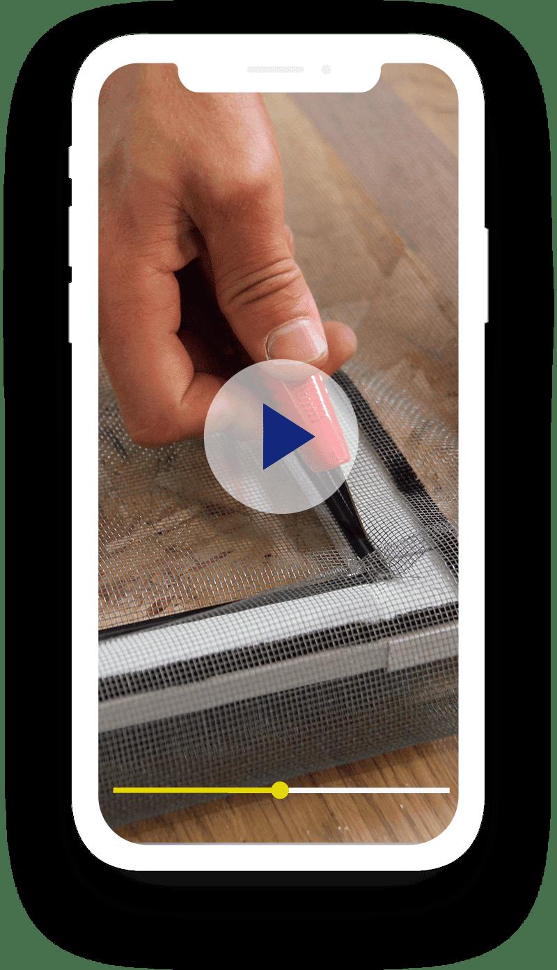 Etape 3 - Installez le produit